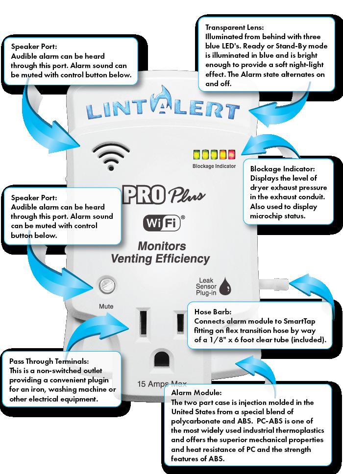 Lint Alert Pro Plus